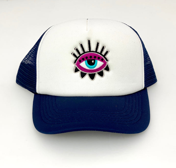 PURPLE-EYE CAP