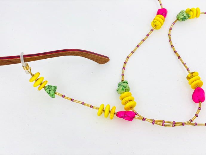 FLUORESCENT GLASSES CHAIN