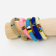 Load image into Gallery viewer, PASTEL BEADED BRACELET SET