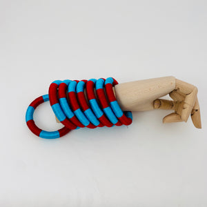 RED AND BLUE BRACELET SET