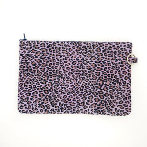 PURPLE CHEETAH BAG