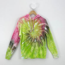 Load image into Gallery viewer, EARTHY SWIRL ICE DYE HOODIE
