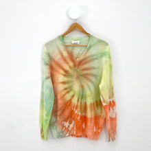 Load image into Gallery viewer, ORANGE SWIRL SWEATER