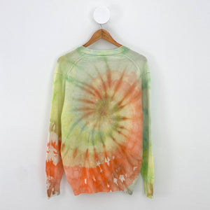 ORANGE SWIRL SWEATER