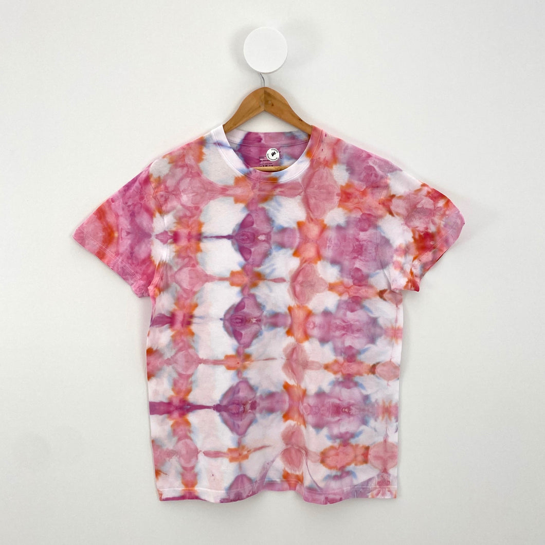 ICE-DYED ORCHID T-SHIRT
