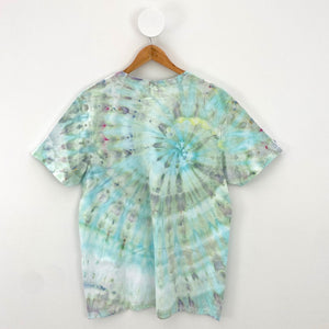 ICE-DYED SEAHORSE T-SHIRT