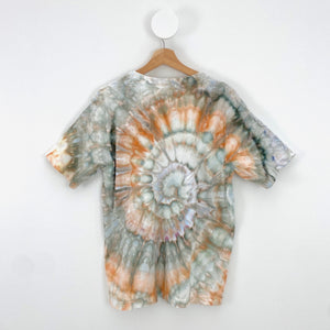 ICE-DYED EARTHY SWIRL T-SHIRT