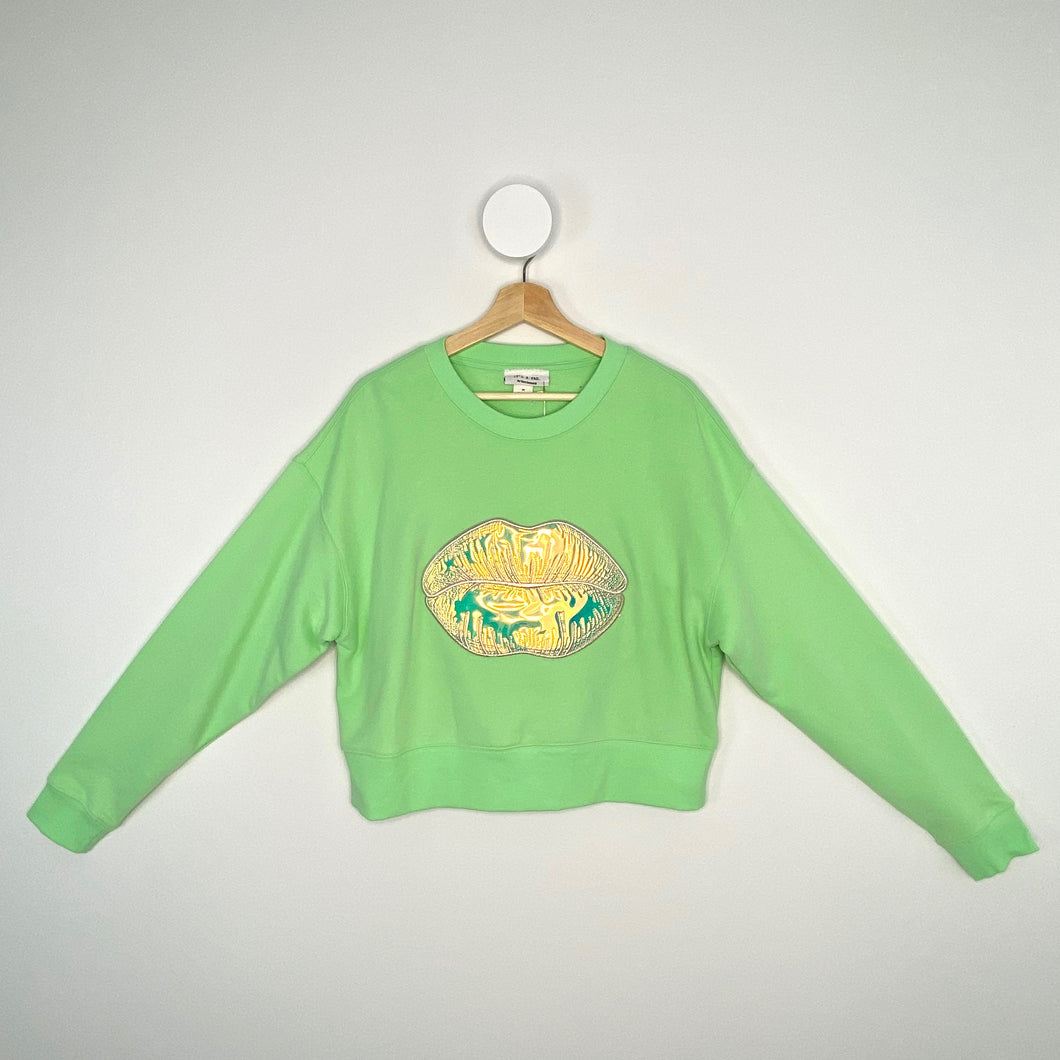 GREEN LIPS JUMPER