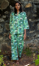 Load image into Gallery viewer, Radha Tunic Pj Set- Banana Leaves