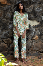 Load image into Gallery viewer, Kira Long Sleeved PJ Set- Blooms and Bees