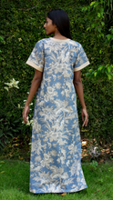 Load image into Gallery viewer, Diya Nightgown- Blue Chinoiserie