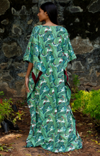 Load image into Gallery viewer, Surya Caftan- Banana Leaves