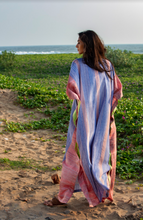 Load image into Gallery viewer, Surya Caftan- Woven Stripes