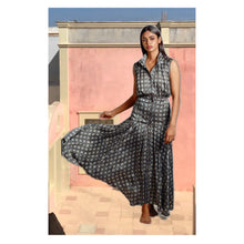 Load image into Gallery viewer, The Sophia Ajrakh Dress