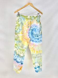 Evergreen Ice Dye Hoodie and Jogger Set
