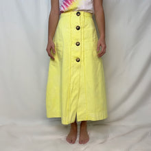 Load image into Gallery viewer, Long Skirt- Limoncello Yellow Skirt