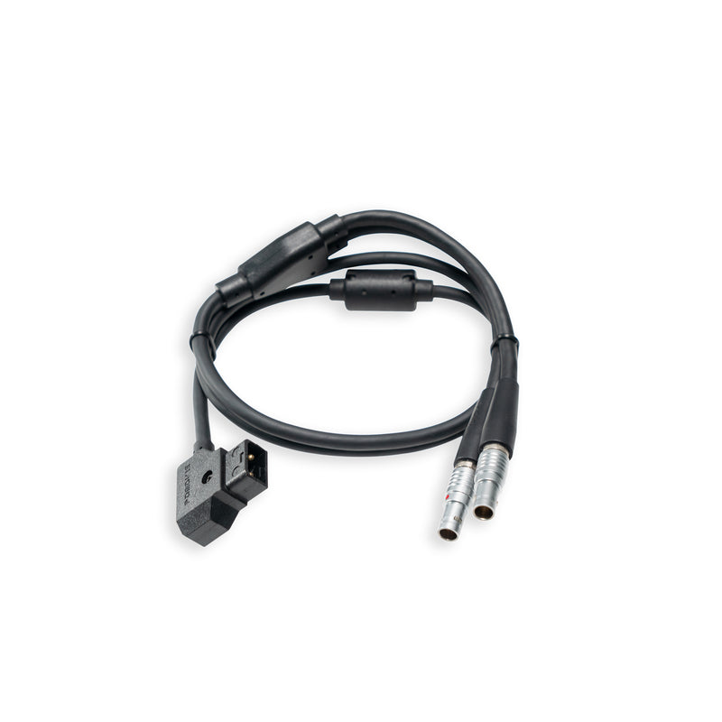 D-Tap Power Cable divided into two / D-Tap 电源线一分二 (6 pin)