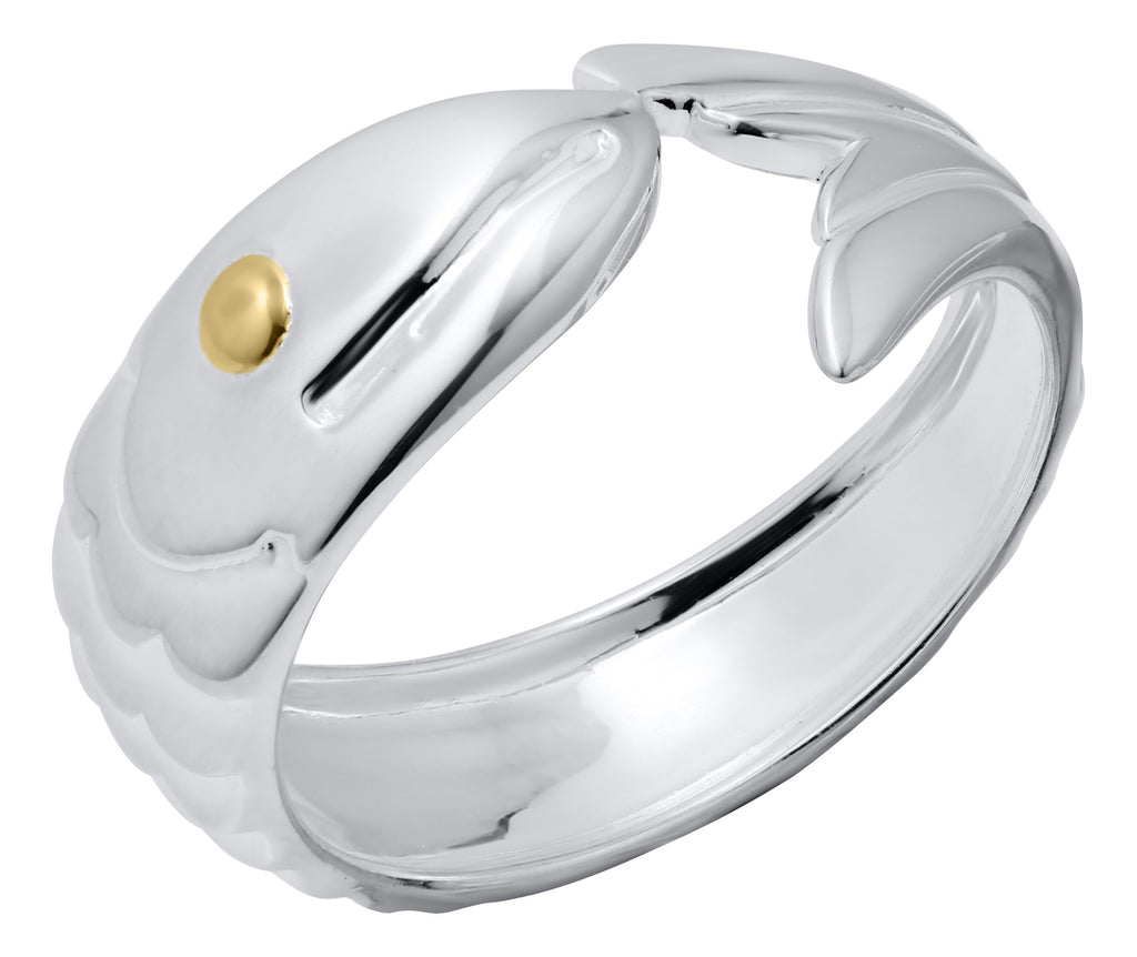 Vermeil Fish Eye Ring