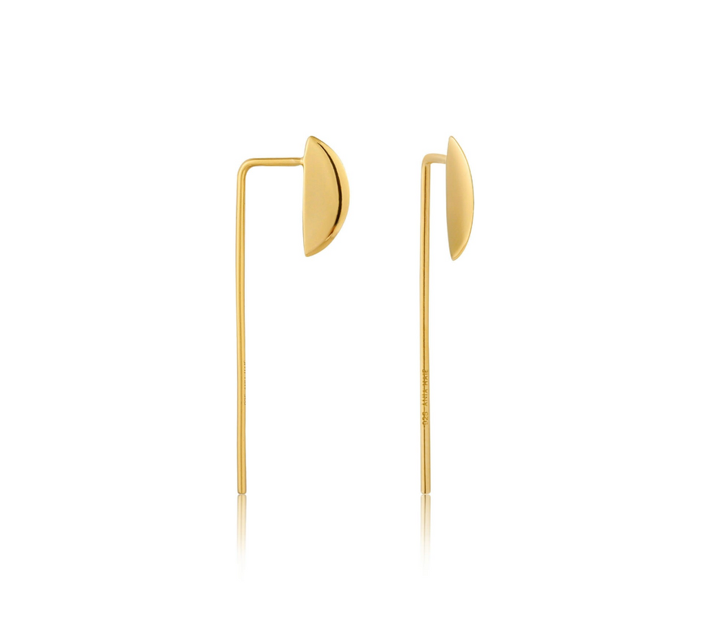 Geometry Solid Drop Earrings