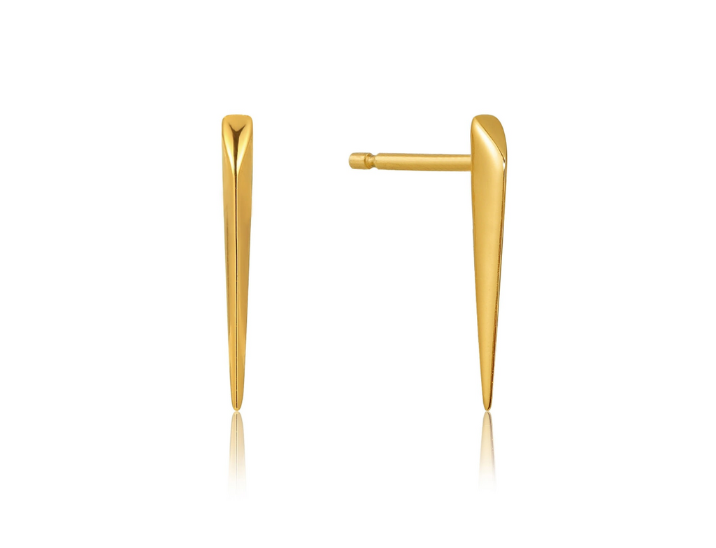 Straight Spike Stud Earrings