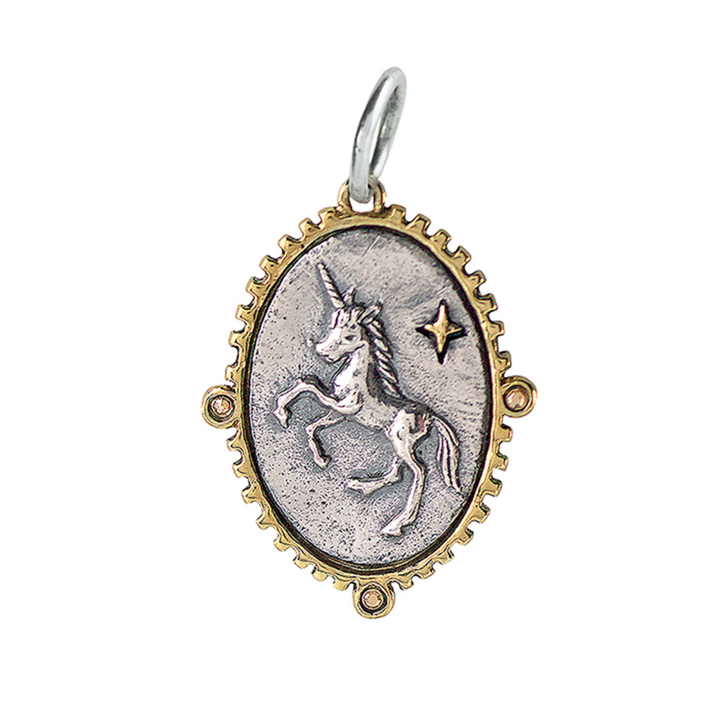 NEW! Lyric & Lore Charm - Open to Wonder Unicorn