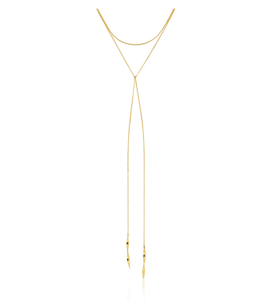 Helix Lariat Necklace