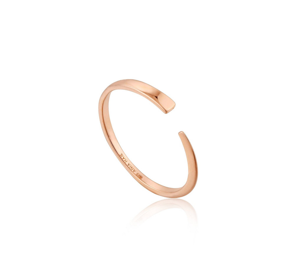 Geometry Flat Adjustable Ring