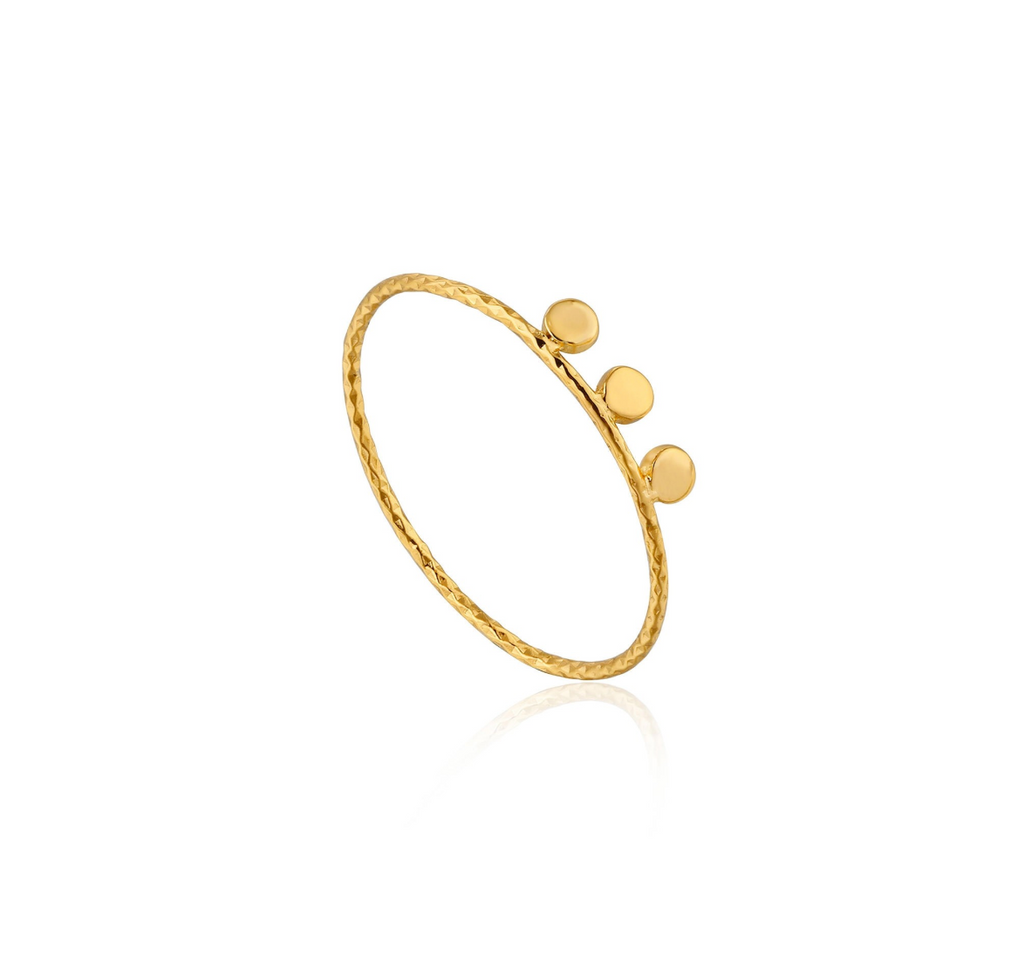 Texture Triple Disc Ring