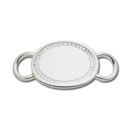 Oval with Border Convertible Clasp