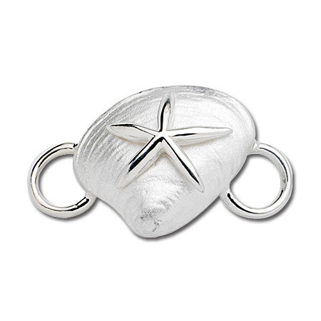 Clam with Starfish Convertible Clasp