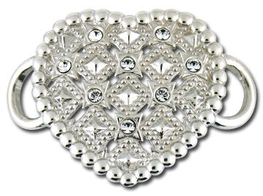 Hearts A Fire Convertible Clasp