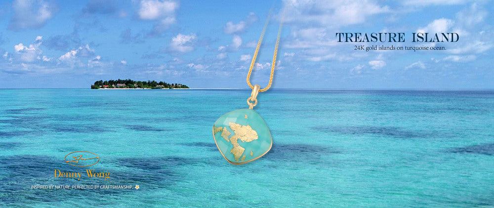 Treasure Island Pendant