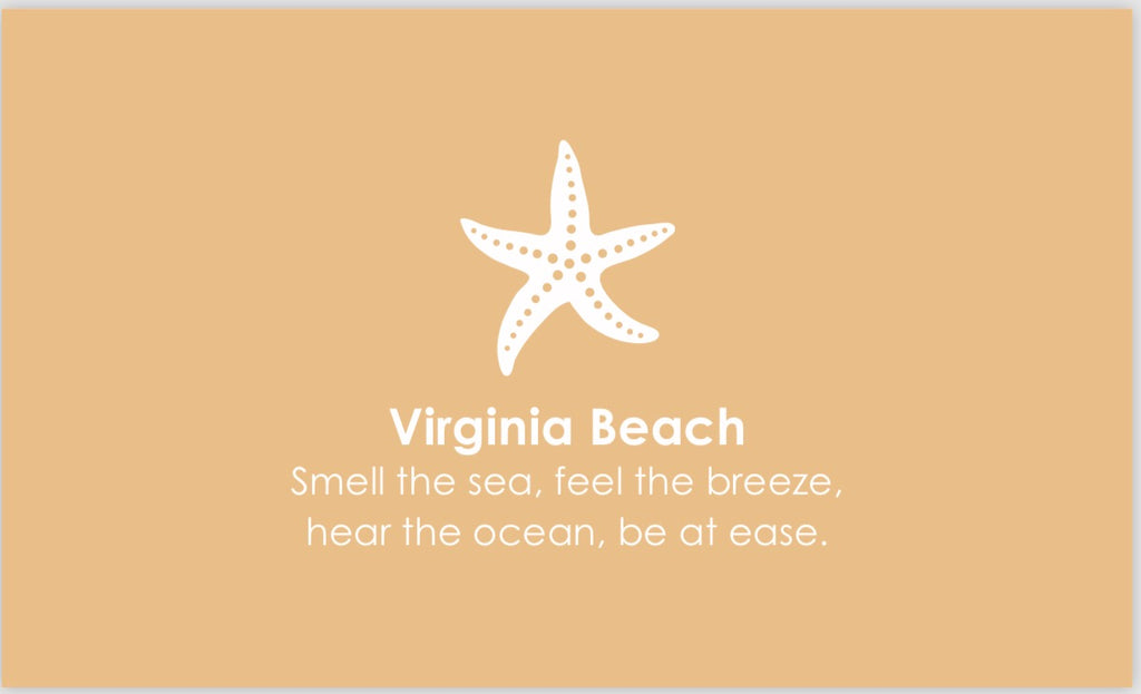 Exclusive Custom Virginia Beach Pendant/ Charm