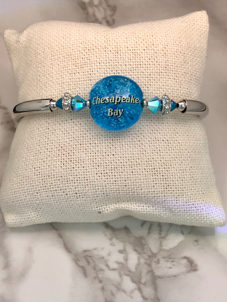 Chesapeake Bay Sand Bubbles Bracelet