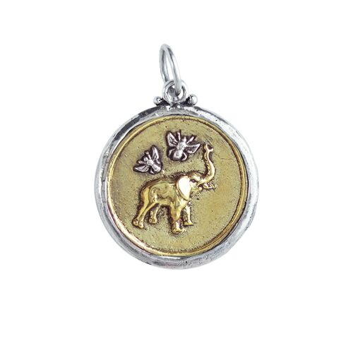 New! Bee Saved- Elephant Pendant
