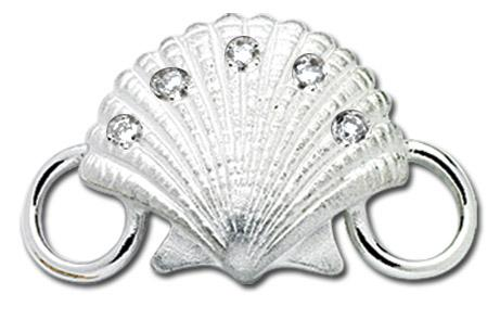 Scallop With Diamond