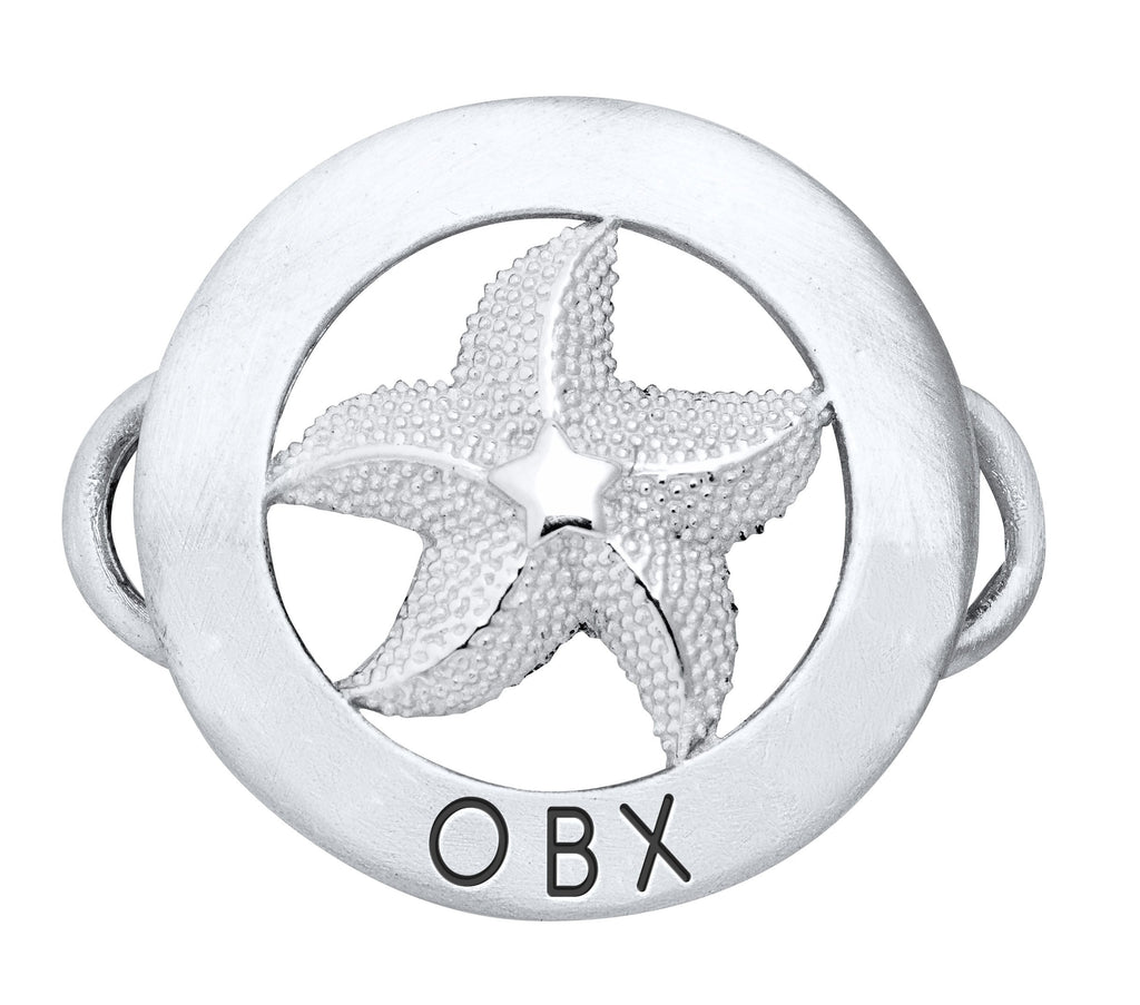 OBX- Personalized Starfish Charm
