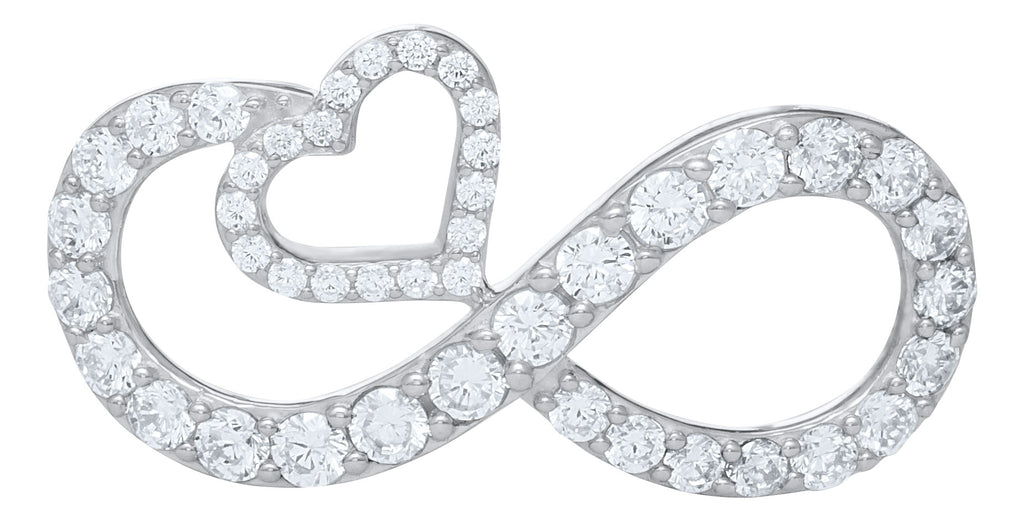 NEW! Dazzling Eternal Love Pave