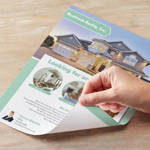 Flyers- Glossy Paper Stock