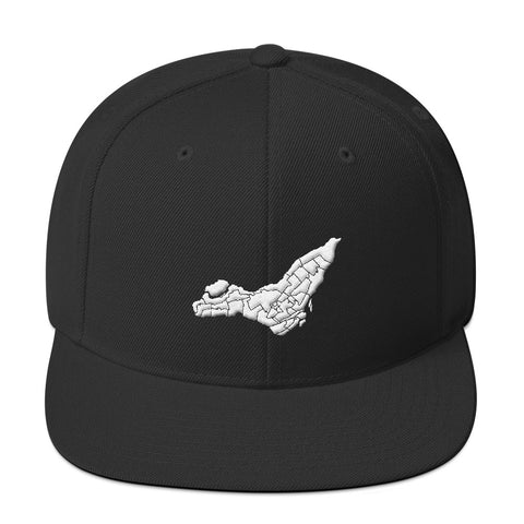 Montreal Map Snapback Hat