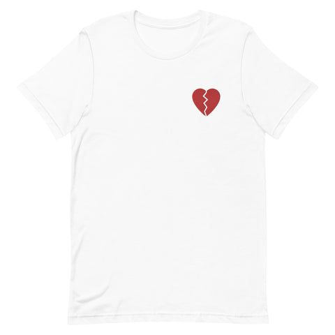 Broken Heart Short-Sleeve Unisex T-Shirt
