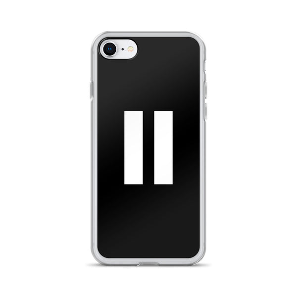 Pause iPhone Case