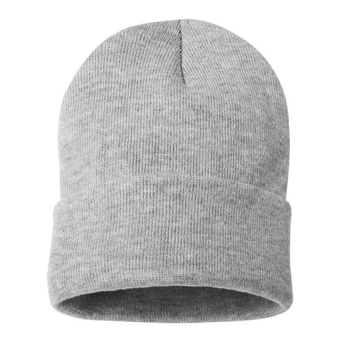 Sportsman 12 Inch Solid Knit Beanies