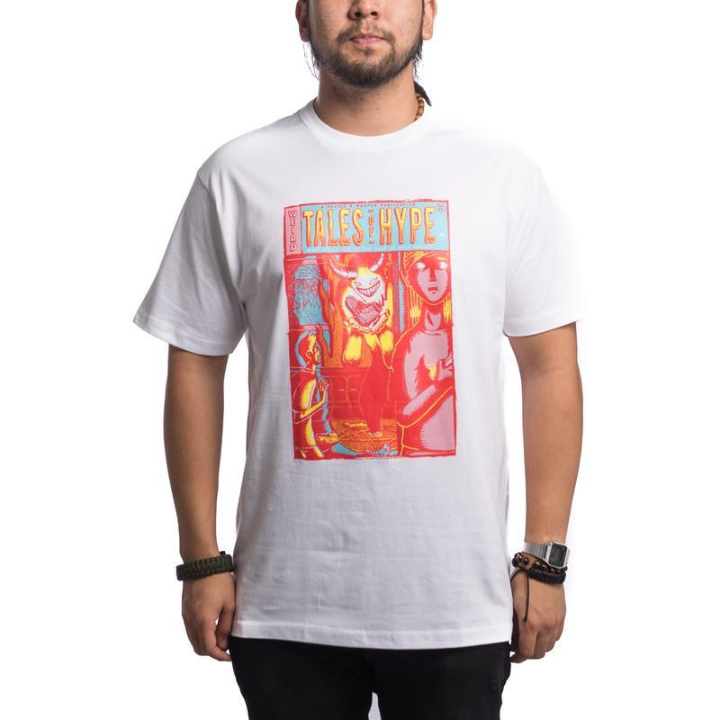 Weird Tales of Hype Tee (White)