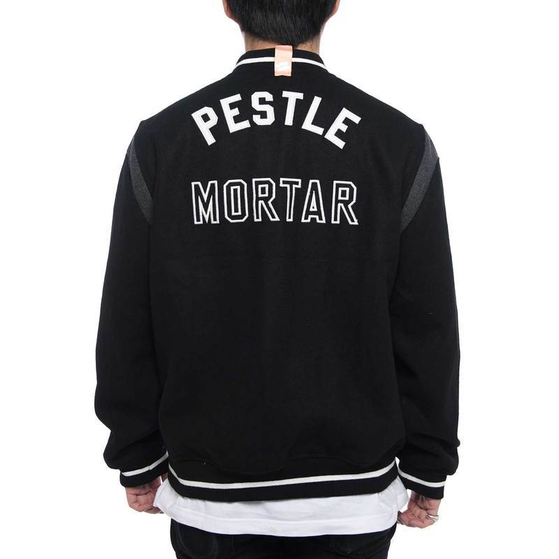 Squad Varsity Jacket (Black)
