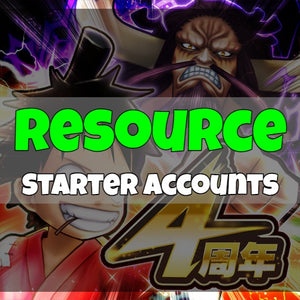 One Piece Thousand Storm - Fresh Resource Starter Accounts