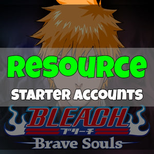 Bleach Brave Soul - Fresh Resource Starter Accounts