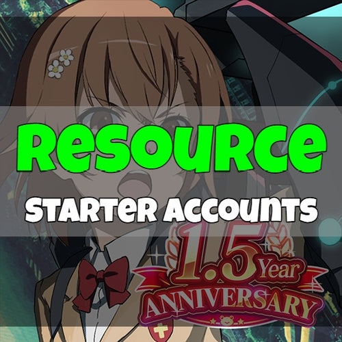 A Certain Magical Index - Fresh Resource Starter Accounts