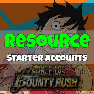 One Piece Bounty Rush - Fresh Resource Starter Accounts
