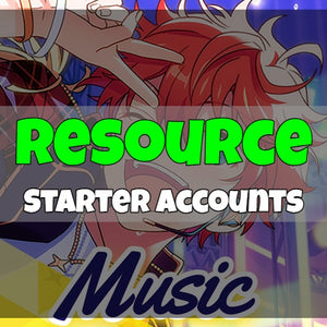 Ensemble Stars Music - Fresh Resource Starter Accounts